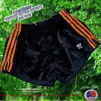 adidas Vintage Shorts Sporthose D7 L Fussball Hose Glanzhose Shiny Nylon Sprinte