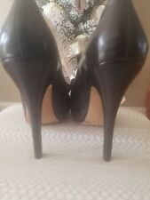 Wow womens sexy black designer shoes party heels Vince Camuto sz10