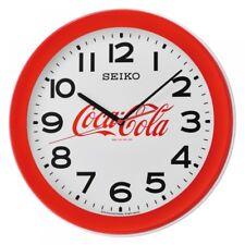 Seiko QXA922R Coca-Cola Wall Clock Red
