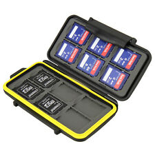 Jjc Memory Card mini case mc-sd12 tarjetas de memoria de caja cards 12x SDHC