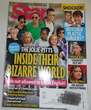 Star Magazine Brad Pitt & Angelina Jolie Tom Cruise April 2014 121814R