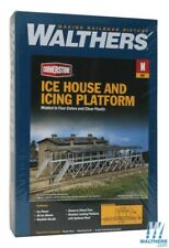 Walthers 933-3245 Ice House & Icing Platform Kit Overall N Scale Train