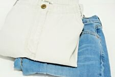 Two Pairs Pants Jeans Levis Bootcut Christopher & Banks Khakis Denim Size 10 EUC