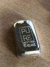 1 oz Hand Poured Silver Bar (999 Fine Silver Bullion) - HALLMARKED VERSION