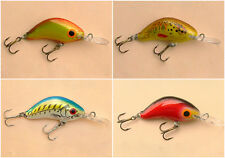 Lot of 4 Ugly Duckling Sinking Fishing Lure Ultralight finesse fishing NIB