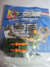 G I Joe Kids Meal Micro Vehicle And Figure Set 1993 Hasbro
