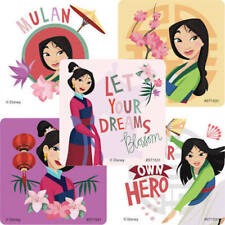 25 Disney  Mulan  Stickers Party Favors princess teacher supply