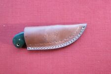 Super tough caper / hunting knife High Carbon Steel carbon fiber handle