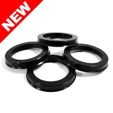 57.10 MM ID x 73.10 MM OD - POLYCARBONATE HUB CENTRIC RINGS - SET OF 4
