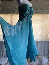 Beautiful 100% Silk Dress Wear Strapless Or Halter new w/out tag