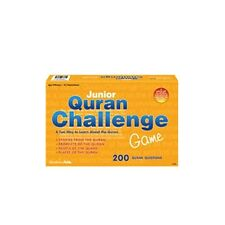 NEW JUNIOR QURAN CHALLENGE GAME ISLAMIC CHILDREN BOARD GAMES PLAY LEARN EID GIFT