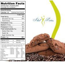 IDEAL PROTEIN DOUBLE CHOCOLATE BROWNIE Bars Newest release