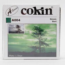 "COKIN ""A"" SERIES A004 GREEN FILTER - BLACK & WHITE CONTRAST CONTROL - NOS"