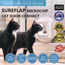 SureFlap Microchip Cat Door Connect White Pet Curfew Keep Out Wifi App Dual Scan