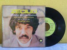 """ZECILIO DONDE ENCONTRARAS MEXICAN 7"""" EP PS PROMO STAMPED POP EN ESPAÑOL"""