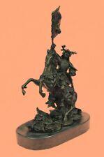 Odin Norse Viking Mythology God 100% Real Bronze Sculpture Original Figure Sale