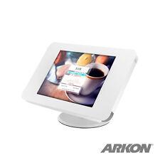 TAB05219KITW: Key Lock Swivel Tabletop Stand for iPad 2 3 4, iPad Air 2 - White