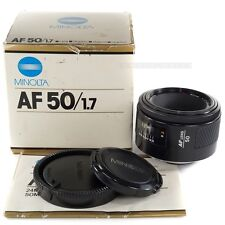 MINOLTA AF 50mm F1.7 for SONY ALPHA a55 a230 a550 a700 a850 a900 a99 a58 a77 a57