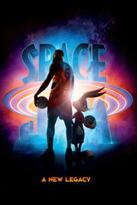 """Space Jam 2: A New Legacy - Movie Poster (LeBron James & Bugs Bunny) (24"""" x 36"""")"""