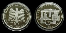 """Germany - 10 Mark 1993 """"F"""" Proof ~ 1000 Years of Potsdam, silver"""
