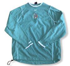 Nike Mexico Soccer Mens Sz L Green RARE Jersey Therma Fit Long Sleeve Futbol GUC