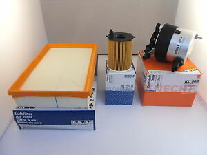 Ford Focus 1.6 TDCI Diesel Service Kit Oil Air Fuel Filter 05 to 07 OPT2 MAHLE