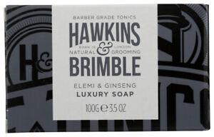 Hawkins & Brimble Elemi & Ginseng Luxury Soap Bar 3.5 oz