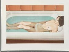 Mel Ramos (1935-2018) Bonnard's Bath, 1979. Signed and Numbered. Limited Edition