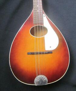 Vintage Harmony Monterey Mandolin w/case