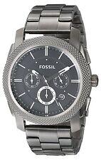 Fossil Machine Chronograph gris de los hombres Fs4662