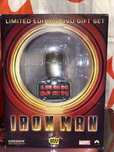 Iron Man Sideshow Mini Bust Limited Edition DVD Gift Set