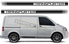 VW Volkswagen Transporter 008 T4 T5 de Gráficos Pegatinas Rayas caravanas Racing