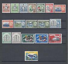 More details for jamaica 1962-63 sg 181/96 & extras mint cat £60