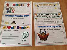 certificates reward certificates for children school childminder teacher