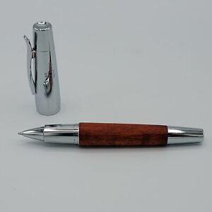 Faber Castell e-Motion Brown Wood Roller Ball Pen