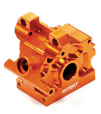 T5022ORANGE Integy Machined Front/Rear Gear Box Case for HPI Savage XS Flux