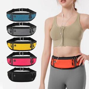 Waist Belt Bag Purse Running Jogging Pouch Pocket Light Weight Outdoor Sports `