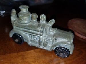 Vintage Barclay Slush Firetruck From 1931