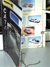 CATALOGUE PROJETTO K 1/43 2000 : FIAT, LANCIA, ALFA, ITALIAN VANS & SPORTS CARS