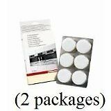Descaling Tablets - Removes Mineral Deposits from Miele Coffee 6 Tabs 2 Pack
