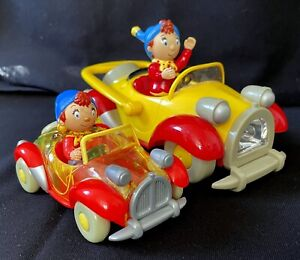 2 NODDY In Toy Land CARS Bonbon Buddies Dekker Vintage collector plastic Vehicle