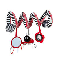 Ladybug Bed Hanging Cribs Toy Cute Plush Spiral Stroller Soft Hanging Rattle