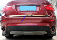 2008-2014 For BMW X6 E71 Rear Door Tailgate Lid Bottom Cover Trim Strip Steel