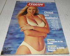 EQUIPE MAGAZINE N°735 1996 MODE MAILLOTS MICHAEL JORDAN PANATHINAÏKOS-AJAX