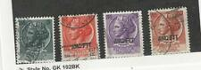 Italy - AMG Trieste, Postage Stamp, #170, 171, 174, 177 Used, 1953-54