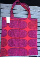 Marimekko Tantsu shopping magazine tote bag purse Christmas, Finland red