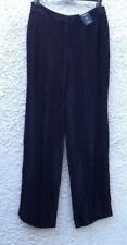 M&S Limited Edition Black Striped Evening/Dress Trousers Size 12/32L BNWT