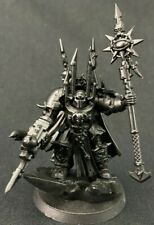 Sorcerer Lord in Terminator Armour - Chaos Space Marines - Warhammer 40k