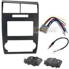 Double DIN Radio Car Stereo install Dash kit for 2005-2007 Dodge Charger