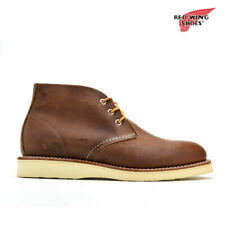 Red Wing Heritage 3137 Men's Work Chukka Boot (Atlas Tred, Goodyear welt)
